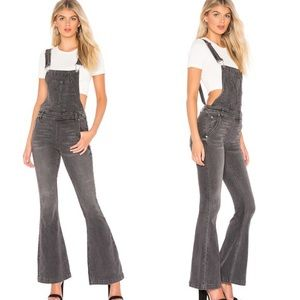 Free People Carly Flare Overalls Greyed Out